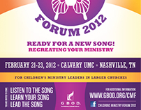 EVENT PROMO:      Children's Ministry    Forum 2012