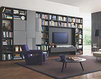 Oak Wood TV Furniture