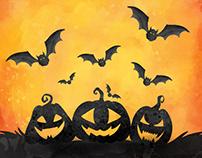 Free Halloween illustrations