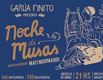 Flyers Noche de Musas