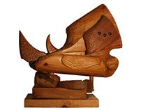 Wood Sculptures by Eugenio de la Torre
