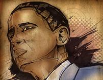 Barack Obama - Editorial Portrait