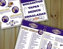 Menus, cartes et cataloges