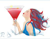 San Diego Spirits Festival illustrations