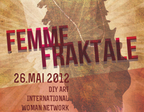 Femme Fraktale wall poster