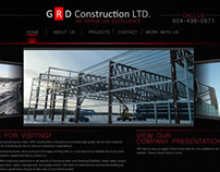 GRD Construction Web Site Design