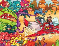 Revista Recreio - Monster Race