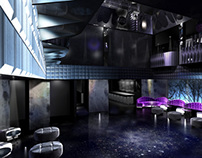 3D Nightclub Renderings