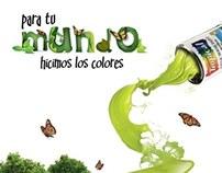 """Boceto Campaña """"Para tu Mundo hicimos los Colores"""""""