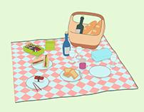 野餐 Picnic Set