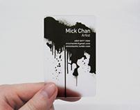 Mick Chan name card