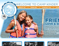 Web Redesign: Camp Kinder Ring
