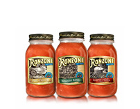 Ronzoni Sauce packaging