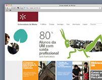 Universidade do Minho / Web Portal