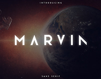 Marvin - 3 font styles   Free font