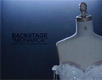 "Fotografia backstage de ""Monarca"""