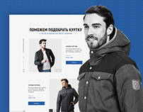 Landing page for ANGRY DANDY shop