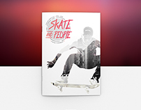 Skate and people
