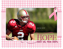 Breast Cancer awareness sports photography
