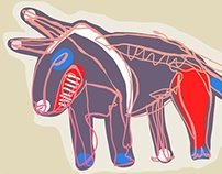 Free-hand. Vector illustration. 2012-2013