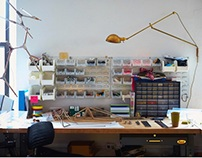 Where They Create 'Lindsey Adelman' by Paul Barbera