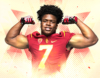 USC Football Signing Day graphics