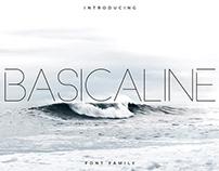 Free Basicaline Sans Serif Font