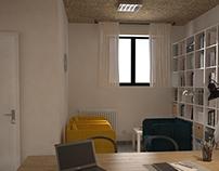 Progetto di uno studio professionale_Venosa (PZ)_Italy