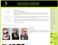 Michelle Zaffino Online Portfolio & Blog Website