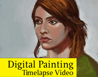 Digital Painting - Timelapse