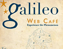 Galileo Web Cafe Poster