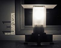 1x1 Lamp Design Project