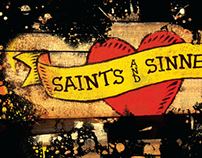 Saint and Sinners Poster