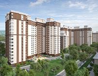 "Visualization of the residential complex ""Bogorodovo"""