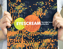 Typography: EYESCREAM The United Senses of Mind