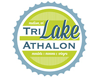 TriLakeAthlon Logo Design