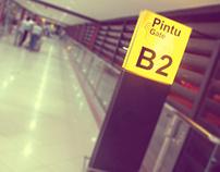 Interior Work & Styling . Soekarno-Hatta INTL Airport