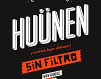 HUÜNEN - Cerveza sin filtro
