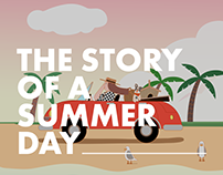 Theme Project for SK Telecom - The Story of Summer Day
