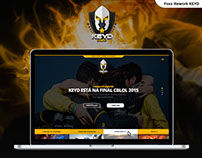 Rework Website KEYD E-Sports
