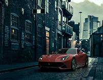 Ferrari F12 Lighting, Rendering and Compositing