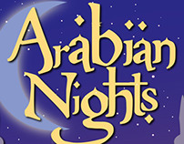Arabian Nights Poster Design