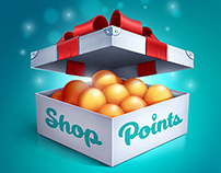 Shop Points IOS icon