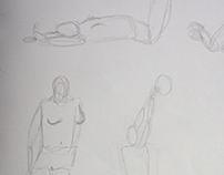 Drawing Portfolio - Figure Sketches