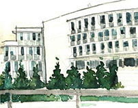 Rand Building Watercolor