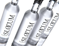 Craft Vodka Label and Visualization