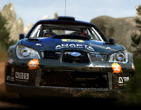 WRC Art Direction //PS3/X360/PC//