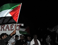 Night Vigil held for Palestine