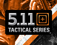 5.11 Tactical Instore Signage