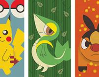 Pokemon Triptych